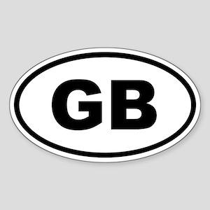 Great Britain GB Sticker