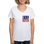 D.I. for Supervisor Women's V-Neck T-Shirt