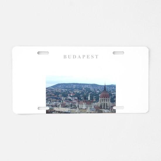 Budapest Hungary souvenir Aluminum License Plate