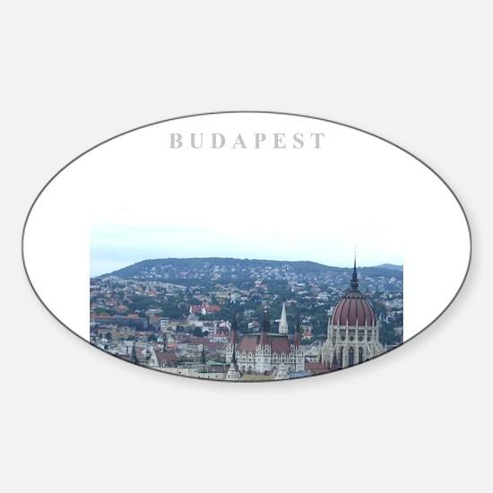 Budapest Hungary souvenir Decal