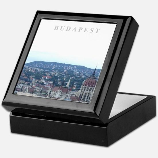 Budapest Hungary souvenir Keepsake Box