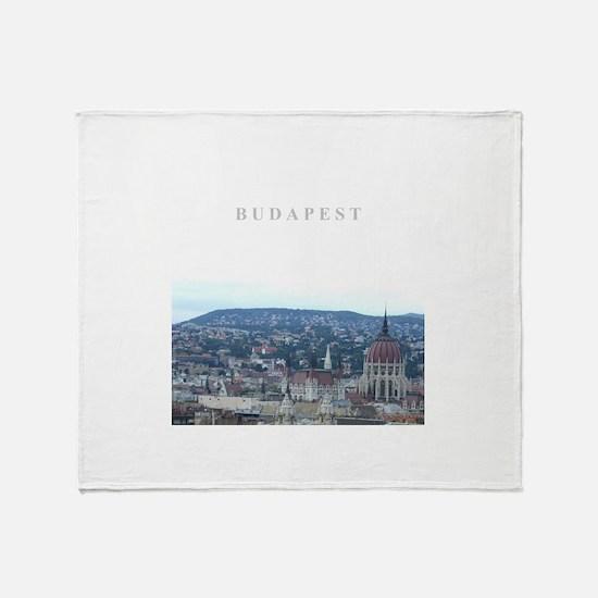 Budapest Hungary souvenir Throw Blanket