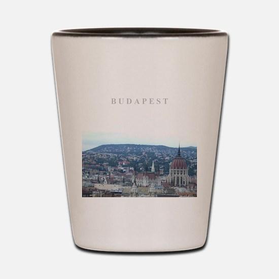 Budapest Hungary souvenir Shot Glass