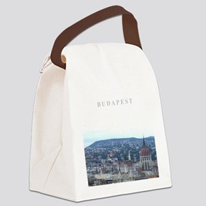 Budapest Hungary souvenir Canvas Lunch Bag