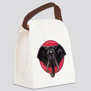 Elephant Memory Systems Canvas Lunch Bag