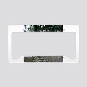 Prague Cemetery Gravestones License Plate Holder