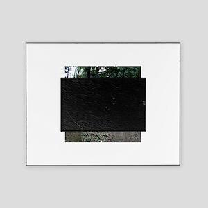 Prague Cemetery Gravestones Picture Frame
