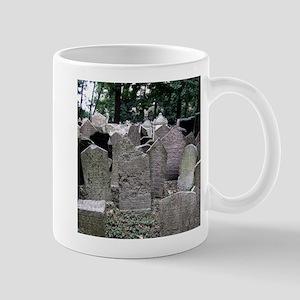 Prague Cemetery Gravestones Mugs