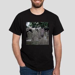 Prague Cemetery Gravestones T-Shirt