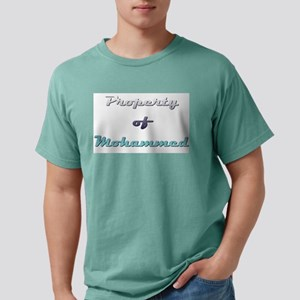 Property Of Mohammed Male T-Shirt