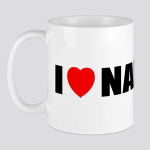 I Love Napa Valley, Californi Mug