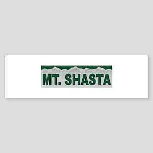 Mt. Shasta Bumper Sticker