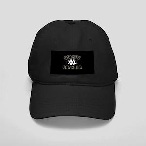 Hockey Grandpa Black Cap