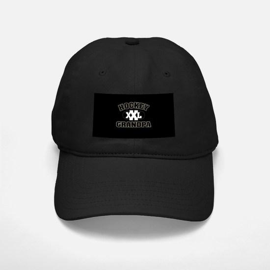 Hockey Grandpa Baseball Hat