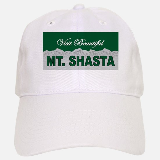 Visit Beautiful Mt. Shasta Baseball Baseball Cap