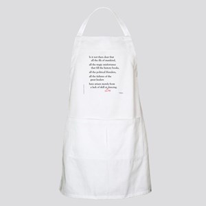 Moliere on Swing Dance BBQ Apron