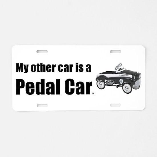 MyOtherCarPedalCar Aluminum License Plate