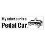 MyOtherCarPedalCar Sticker (Bumper 10 pk)
