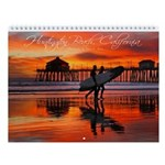 Huntington Beach Sunsets Wall Calendar