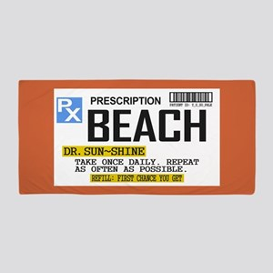 Prescription Beach Towel