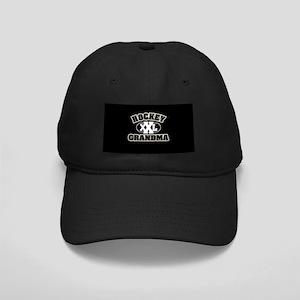 Hockey Grandma Black Cap