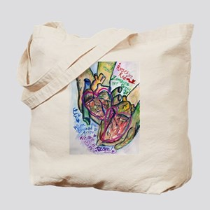 Zombie Love Poem Tote Bag