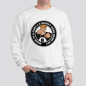 Funny Hockey Player Sweatshirt