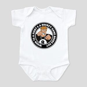 Funny Hockey Player Infant Bodysuit