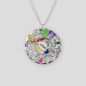 Zodiac Chinese Style  Necklace Circle Charm