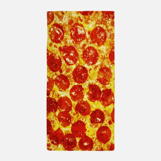 Pizzatime Beach Towel
