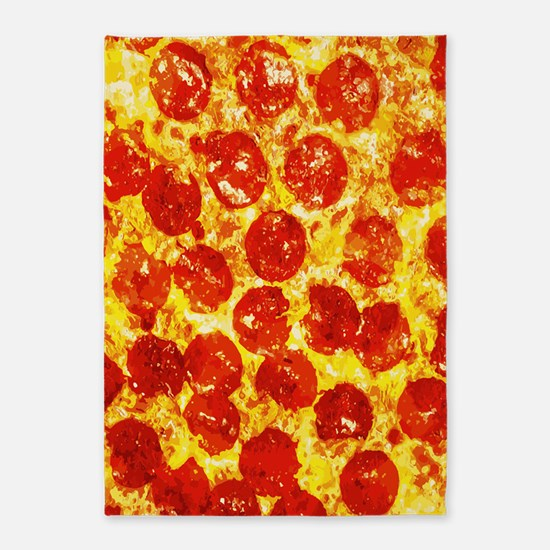 Pizzatime 5'x7'Area Rug