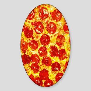 Pizzatime Sticker (Oval)