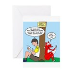 Wild Animal Id Greeting Card