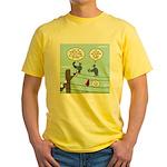 Bird Calls Yellow T-Shirt