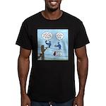 Bird Calls Men's Fitted T-Shirt (dark)