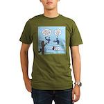 Bird Calls Organic Men's T-Shirt (dark)