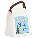 Bird Calls Canvas Lunch Bag