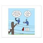 Bird Calls Small Poster
