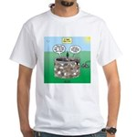 Tinkles Saves the Day White T-Shirt
