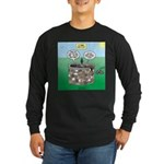 Tinkles Saves the Day Long Sleeve Dark T-Shirt