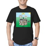 Tinkles Saves the Day Men's Fitted T-Shirt (dark)