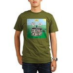 Tinkles Saves the Day Organic Men's T-Shirt (dark)