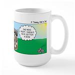 Tinkles Saves the Day Large Mug