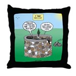 Tinkles Saves the Day Throw Pillow