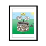 Tinkles Saves the Day Framed Panel Print