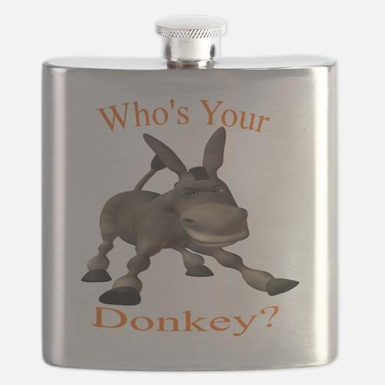 Cute Jackass Flask