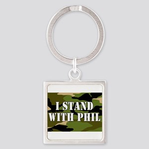 I Stand With Phil (robertson) Keychains