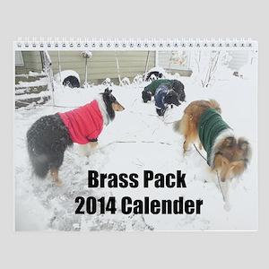 Brass Pack 2014 Wall Calendar