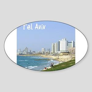 Tel Aviv Beach Sticker