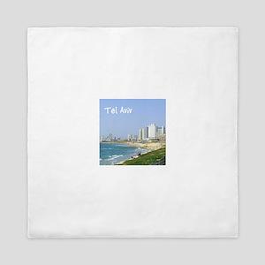 Tel Aviv Beach Queen Duvet